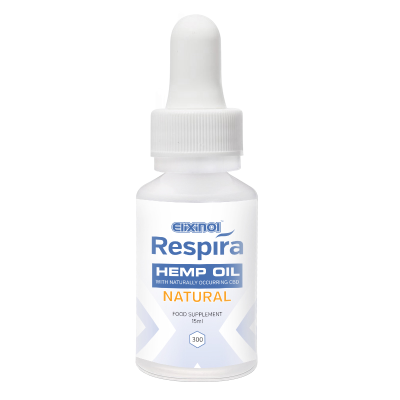 Respira Hemp Oil Natural 300mg