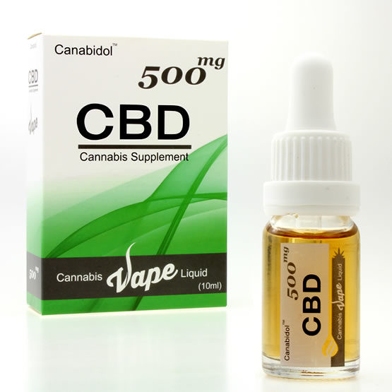 Canabidol CBD Cannabis Liquid Vape 10ml