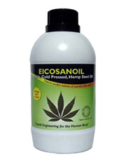 Swiss Herbal Eicosanoil Hemp Seed Oil Organic 500ml