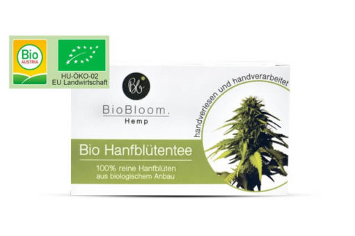BioBloom – hemp pure flower 20 teabags
