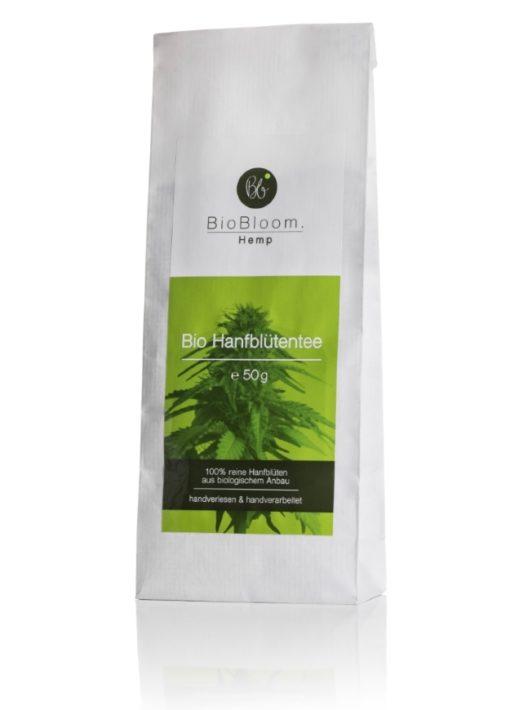 BioBloom Organic Hemp Flower tea in bags