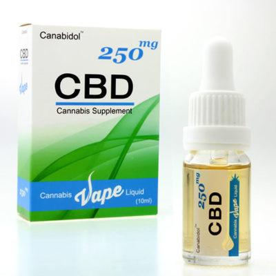 CBD Cannabis Liquid Vape 250mg 10ml