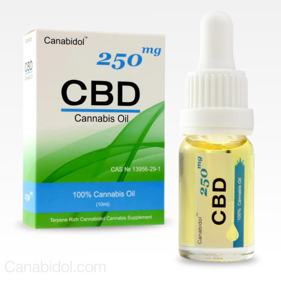 Canabidol CBD Cannabis Oil 250mg 10ml