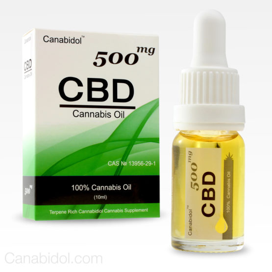 Canabidol CBD Cannabis Oil 500mg 10ml