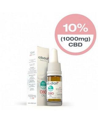Cibdol 10% CBD oil