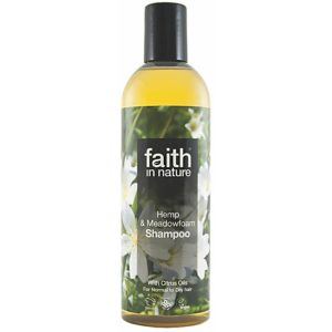 Faith In Nature Hemp and Meadowfoam shampoo 400g