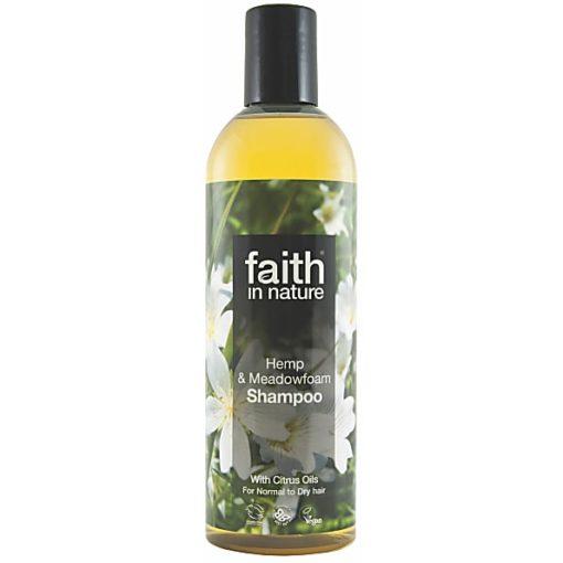 Faith In Nature Hemp and Meadowfoam shampoo 400g