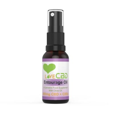 Love CBD 800mg Entourage oil 20ml