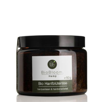BioBloom Organic Hemp Flower tea 50g