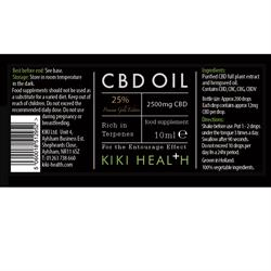 Kiki Health CBD gold Edition Oil 25% 10ml