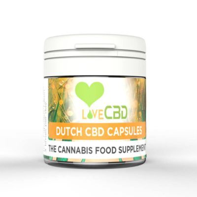 Love CBD 400MG DUTCH CBD CAPSULES