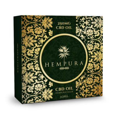 Hempura 250mg CBD Vape Liquid (10ml)