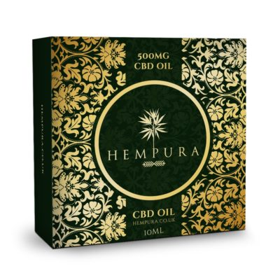 Hempura 500mg CBD Oil (10ml)