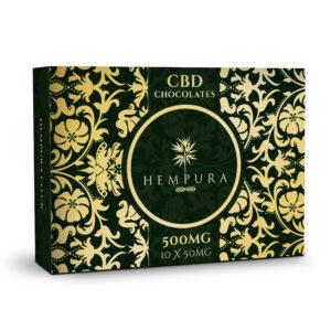 Hempura CBD White Chocolates