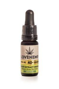 Love Hemp 4000mg 40% CBD Oil 10ml