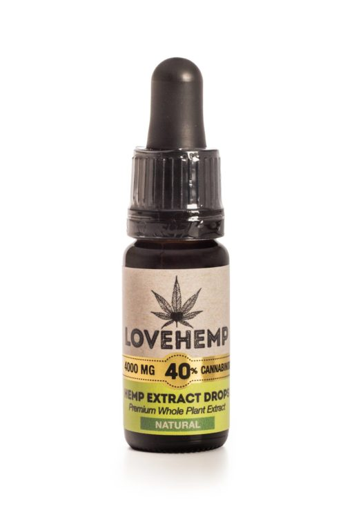 Love Hemp 4000mg 40% CBD Oil 10ml