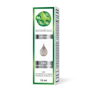 MCU Botanicals Oil Drops 300mg CBD